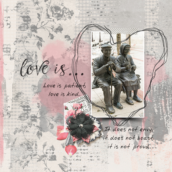 Love Is Collection Take 3 Layout