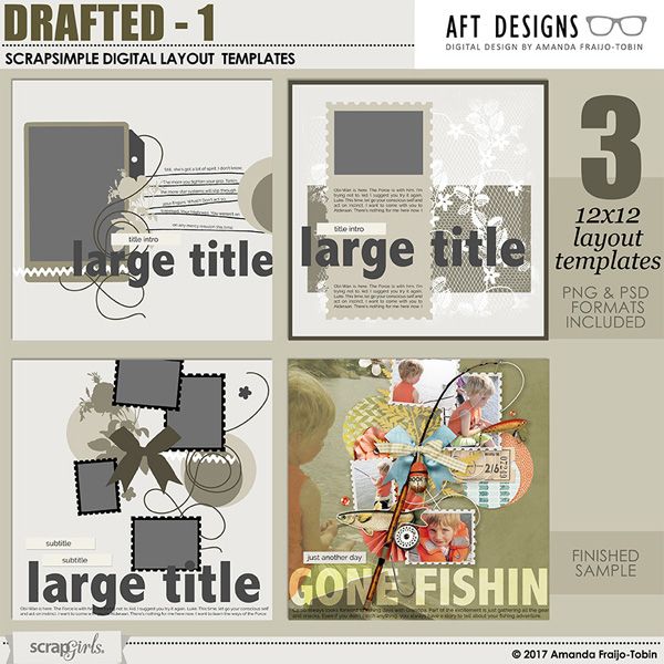 Drafted Large Title Templates