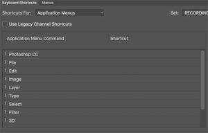 Application commands