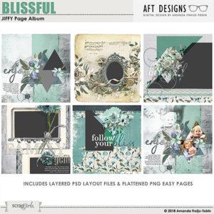 Blissful MAR 2018 SG CLUB JIFFY Easy Page Album BONUS