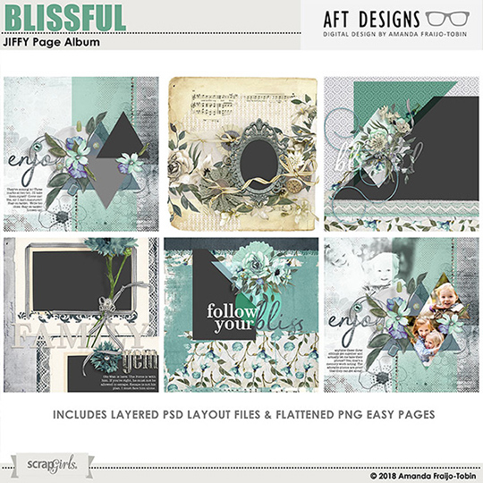 Blissful MAR 2018 SG CLUB JIFFY Easy Page Album BONUS