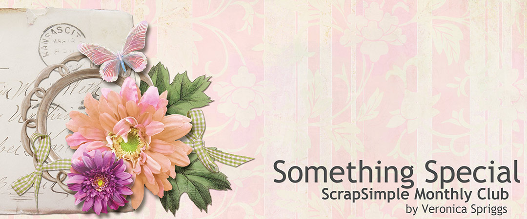 Scrap Girls ScrapSimple Club Exclusive: Something Special