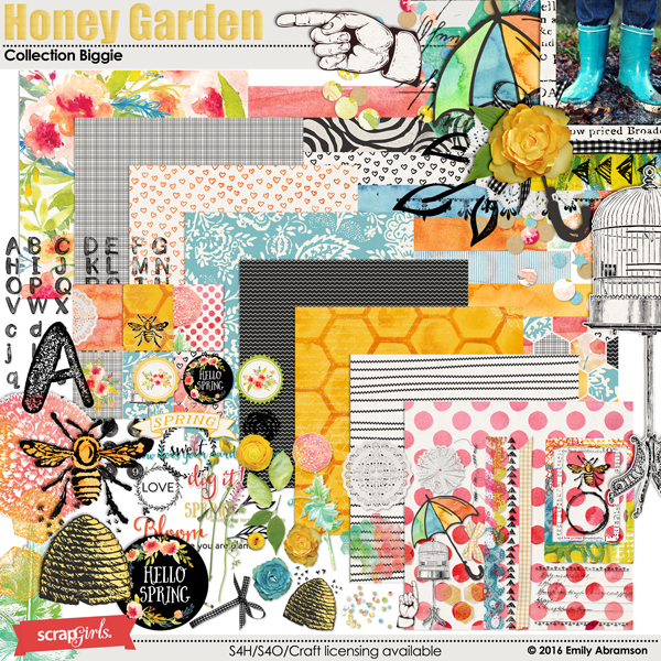 Honey Garden Collection Biggie