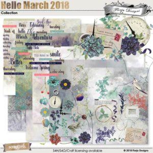 Hello March 2018 digital kit