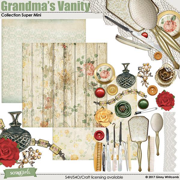 Grandmas vanity digi kit