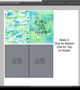 Create a holder template in PS