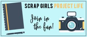 Scrap Girls Project Life header