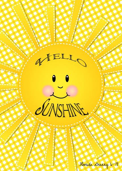 June 2018 ATC Swap hello sunshine