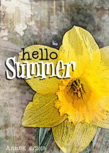 June 2018 ATC Swap hello summer
