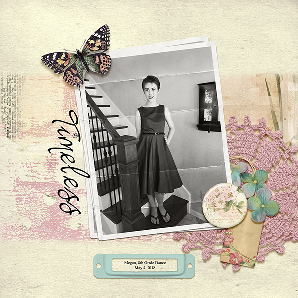 Layout by Anna Mansfield using vintage photos