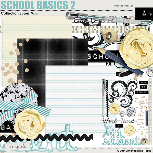 school basics 2 digi kit