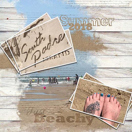 SSCLUB July2018 Seaside Summer layout