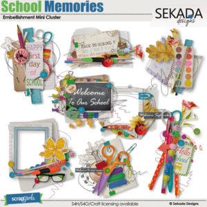 school memories clusers