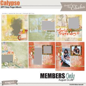 August 2018 SG Club Calypso BONUS
