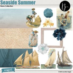 SSCLUB July2018 Seaside Summer bonus kit