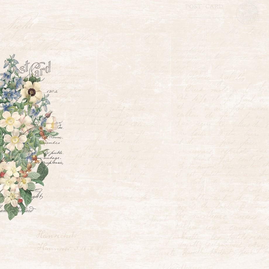 Custom Botanical Paper