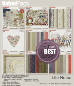 Value Pack: Life Notes