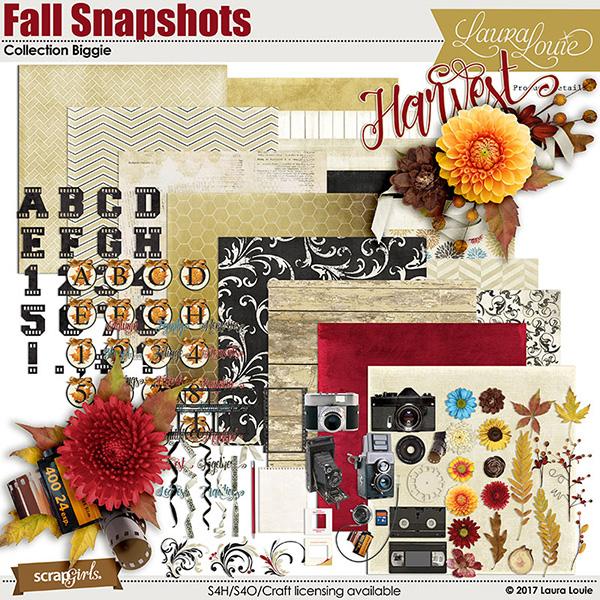 Fall Snaps kit