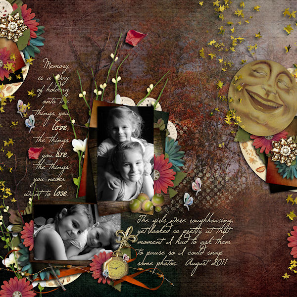 autumn lullaby layout