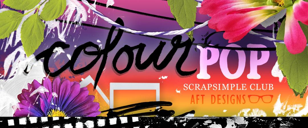Scrap Girls ScrapSimple Club Exclusive: Colour Pop