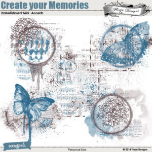 Create Your Memories Embellishment Mini: Accents