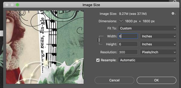 resize layout