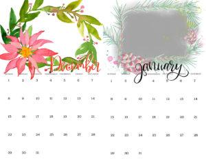 watercolor calendar ideas