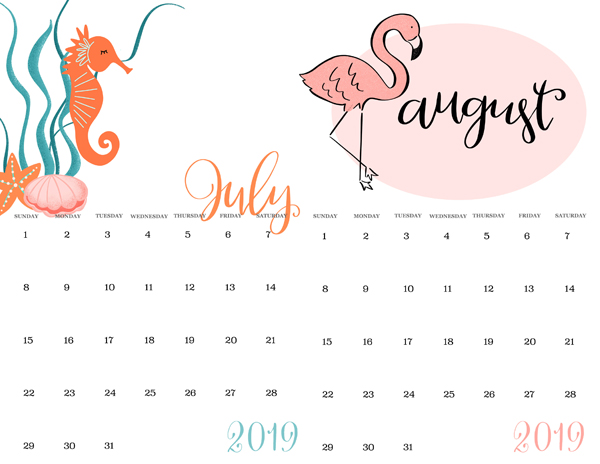 summer calendar ideas