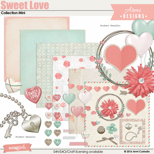 Sweet Love Collection Mini