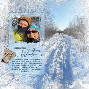 JAN19_SSCLUB-Winter is Here Scrapbook