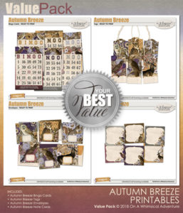 Value Pack: Autumn Breeze Printables