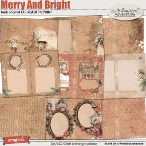 Merry and Bright Junk Journal