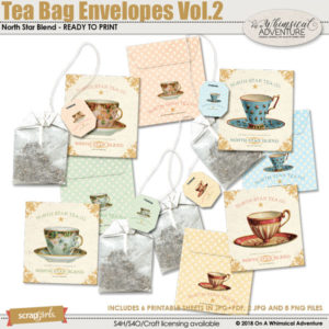 Tea Bag Envelopes Vol2