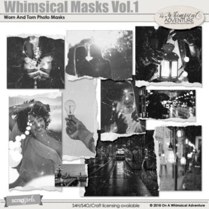 Whimsical Masks Vol1