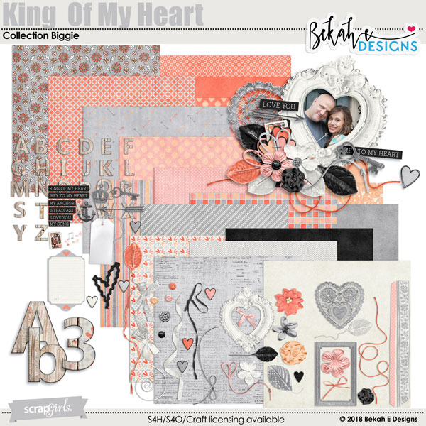 Kind of My Heart Digital kit