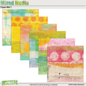 Mixed Media Paper Mini 1