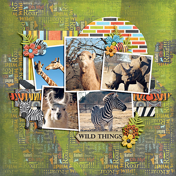 Layout Using Wild Thing Collection