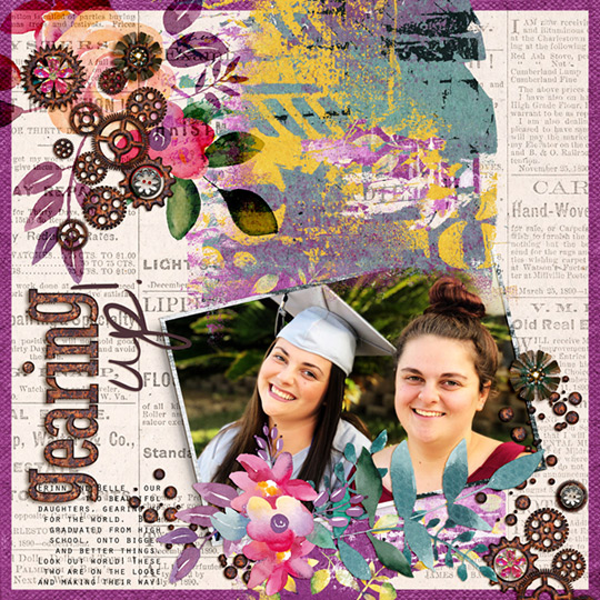 April 2019 A Beautiful Mess SG Club layout
