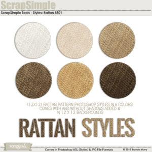 Rattan Layer Styles