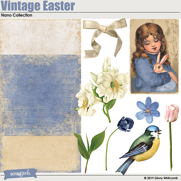 Vintage Easter April 2019 SS CLUB BONUS