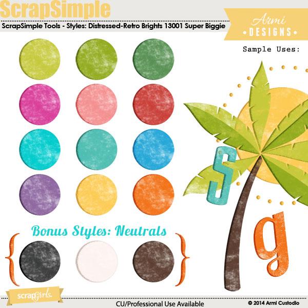 ScrapSimple-Tools-Styles-Distressed-Retro-Brights-Super-Biggie-13001
