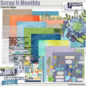 Scrap It Monthly Collection
