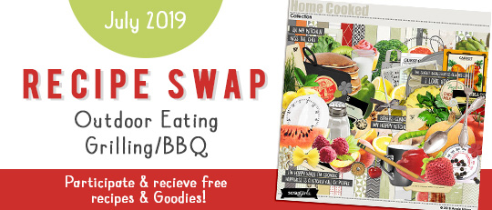 Participate in the SG Monthly Recipe Swap & Earn FREEBIES!