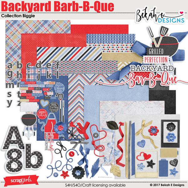 Backyard bbq digital kit