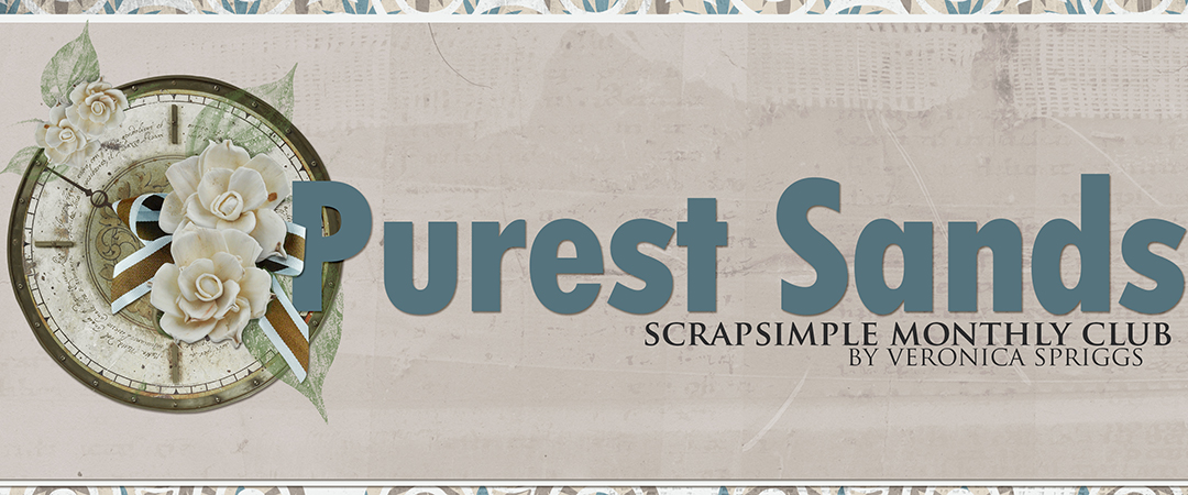 Scrap Girls ScrapSimple Club Exclusive: Purest Sands