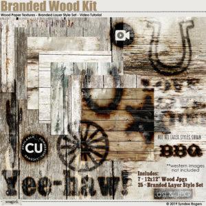 Branded Wood Kit