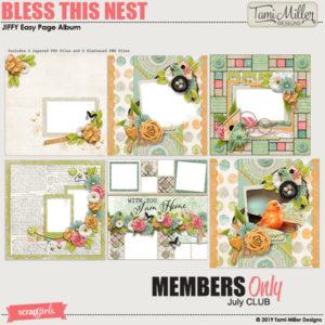 Bless This Nest Club Bonus jiffy album