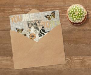 Create card with mini kit