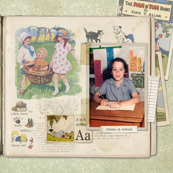 Little Reader Layout by Susie Roberts
