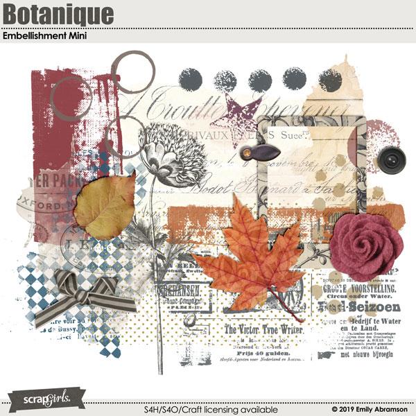 Botanique Embellishments